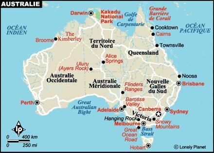 Carte Australie Grande Barriere De Corail.L Australie Exemplaire En Tourisme Durable Et Innovante En