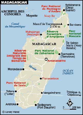 Carte Verte Madagascar.Madagascar L Ecotourisme Pour La Conservation Et La
