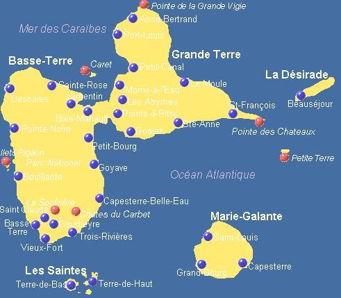 Guadeloupe   une destination de l'écotourisme