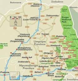 Carte Afrique Du Sud Parc Kruger.Parc National Kruger La Plus Grande Reserve Animaliere D