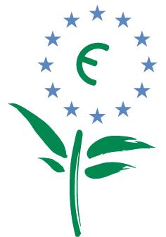Le logo de l'Eco-label Européen