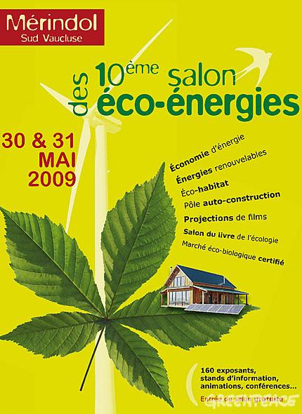 10ème salon des éco-énergies - Mérindol
